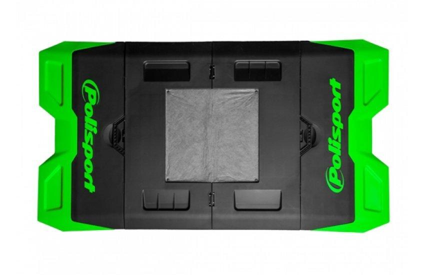 Сервисный мат Polisport Bike pit-mat [Green]