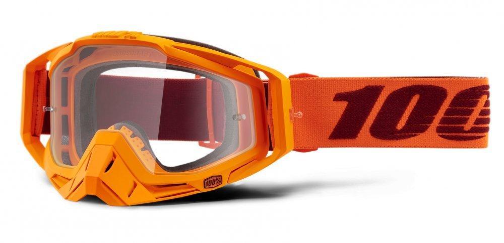 Мото очки 100% RACECRAFT Goggle Menlo - Clear Lens, Clear Lens