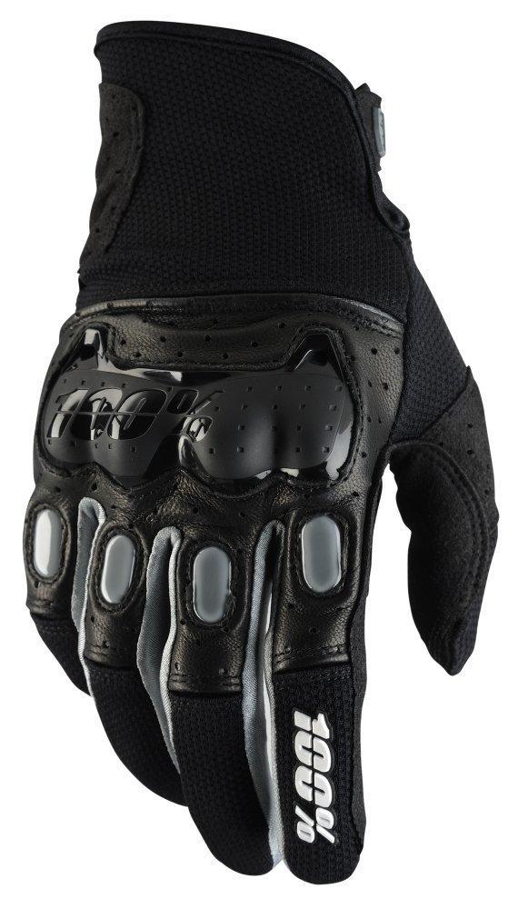 Мото перчатки Ride 100% Derestricted Glove [Black/Grey], S (8)