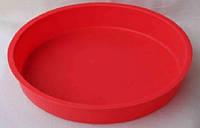 Форма круглая силиконовая для выпечки торта Vincent 25,5х4 см VC-1473