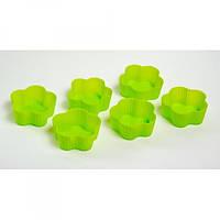 Форма силиконовая для кекса Kamille 7х3 см 6 пр K 7733