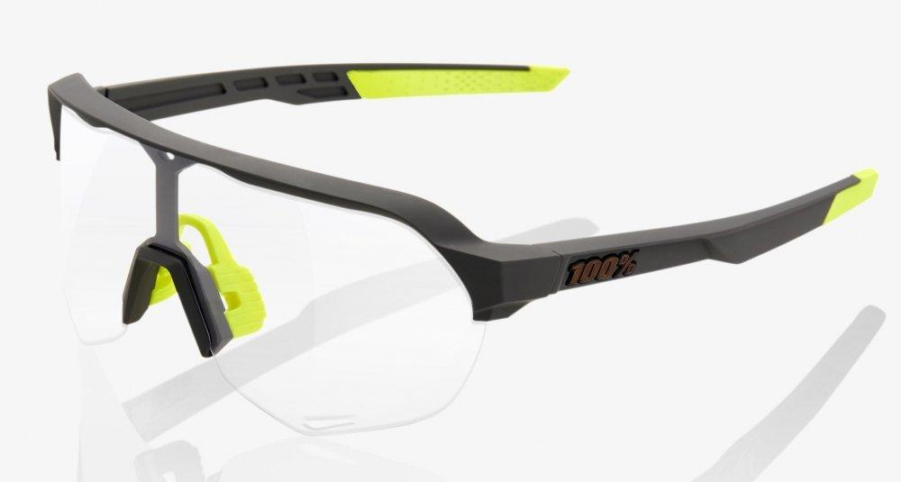 Велосипедные очки Ride 100% S2 - Soft Tact Cool Grey - Photochromic Lens, Photochromic Lens