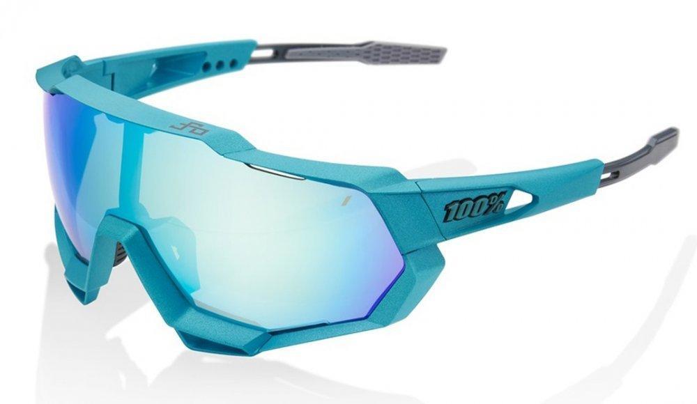 Велосипедные очки Ride 100% SPEEDTRAP - Peter Sagan LE Blue Topaz - Multilayer Mirror Lens, Mirror Lens