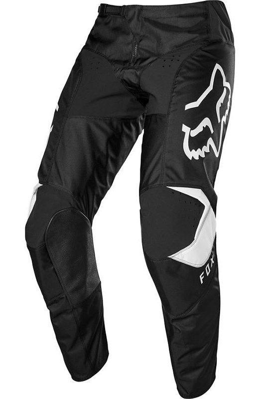 Мото штаны FOX 180 PRIX PANT [BLACK WHITE], 44