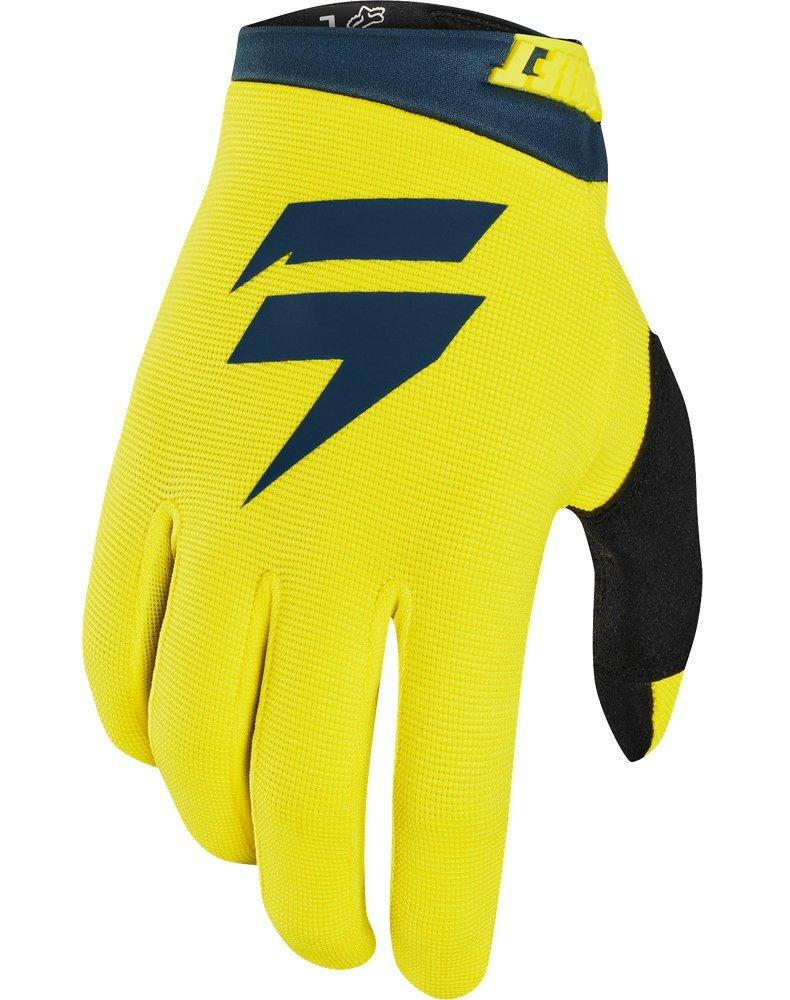 Мото перчатки SHIFT WHIT3 AIR GLOVE [YLW/NVY], XL (11)