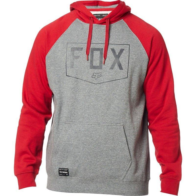 Толстовка FOX SHIELD RAGLAN PO FLEECE [HEATHER GRAPHITE], XL