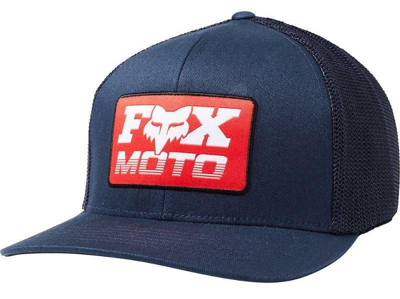 Кепка FOX CHARGER FLEXFIT HAT [MIDNIGHT], L/XL