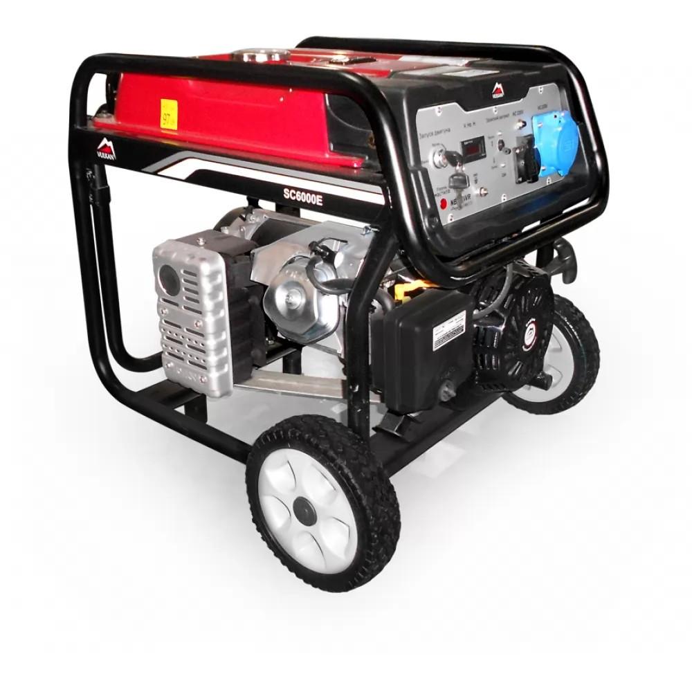 Генератор бензиновый Vulkan 5,5 кВт 220В