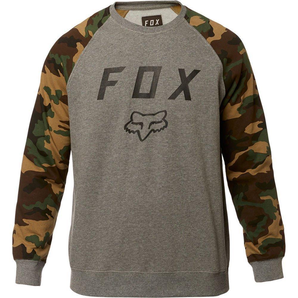 Кофта FOX LEGACY CREW FLEECE [HTR GRAPH], M