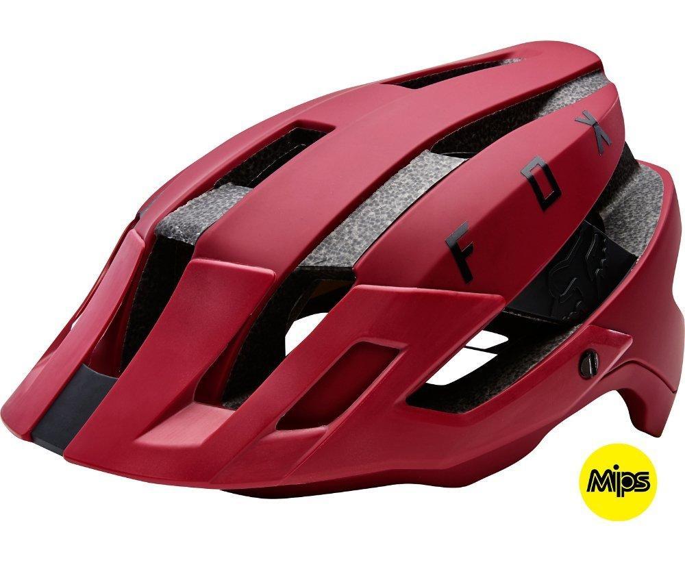 Вело шлем FOX FLUX MIPS HELMET  [DRK RD], S/M