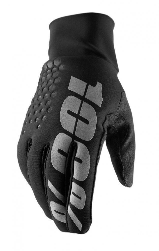 Зимние мото перчатки RIDE 100% BRISKER Hydromatic Glove [Black], S (8)