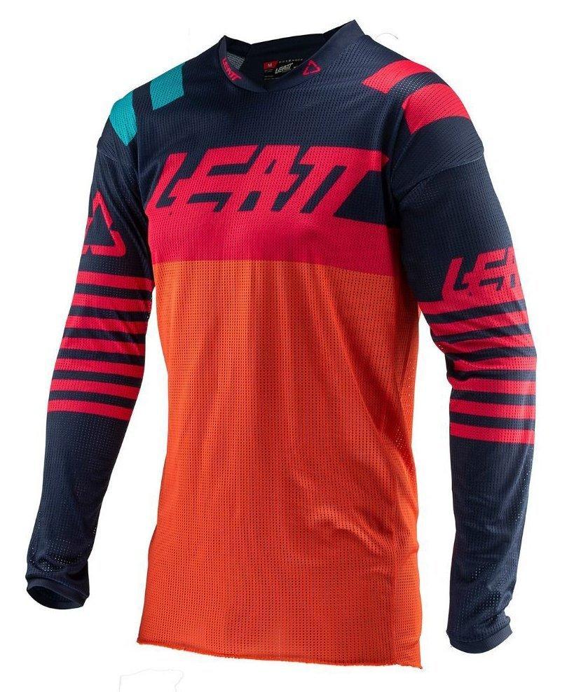 Мото джерси LEATT Jersey GPX 4.5 X-Flow [Inked/Red], L