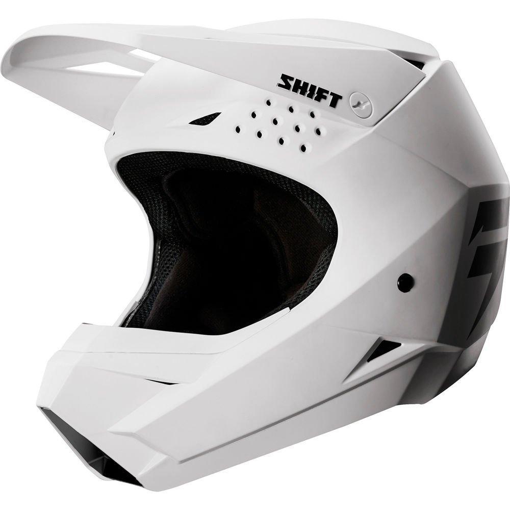 Детский мотошлем SHIFT YOUTH WHIT3 LABEL HELMET [WHITE], YS