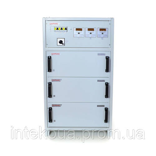 Стабилизатор напряжения трехфазный HHCT NORMIC 3×3,3 кВт 16А (10-0)