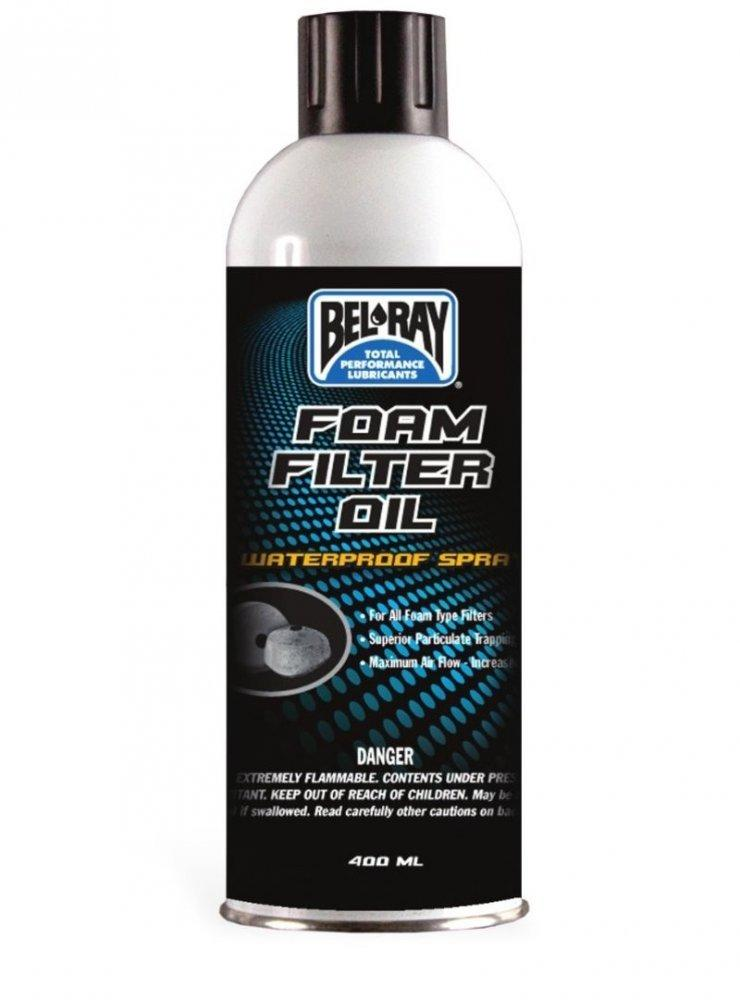 Пропитка воздушного фильтра Bel-Ray Foam Filter Oil Spray [400мл], Aerosol