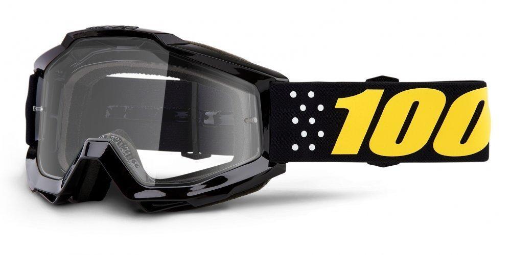 Мото очки 100% ACCURI Goggle Pistol - Clear Lens     , Clear Lens
