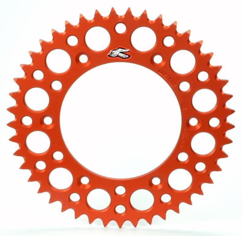 Звезда задняя Renthal Ultralight Orange 520, 53z