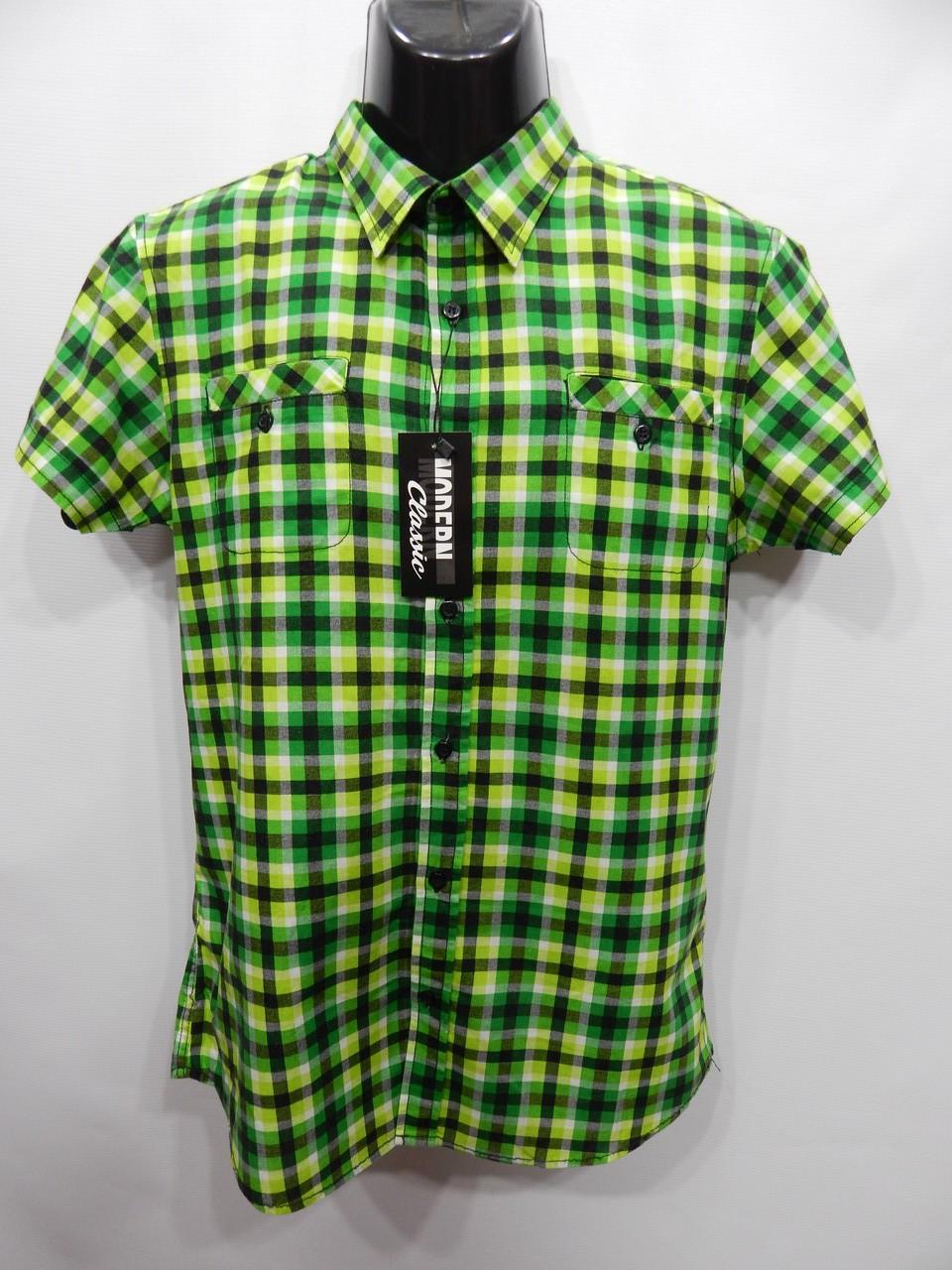 Мужская рубашка с коротким рукавом Fishbone оригинал (064КР) р.48