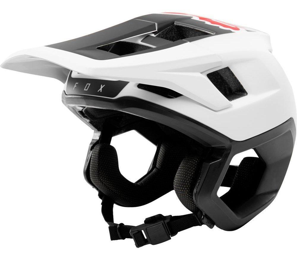 Вело шлем FOX DROPFRAME HELMET [WHITE/BLACK], M