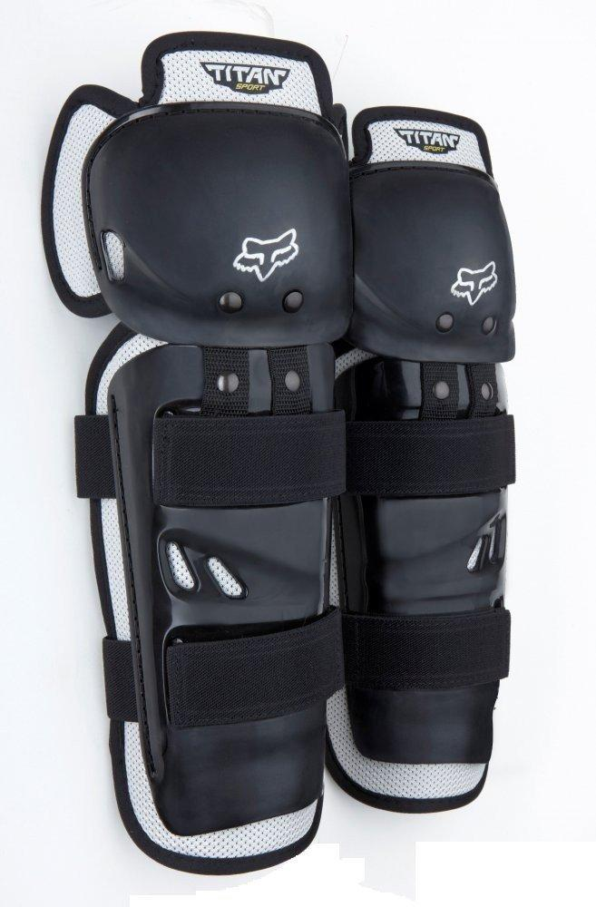 Детские наколенники FOX Youth Titan Sport Knee Guard CE [BLACK], One Size