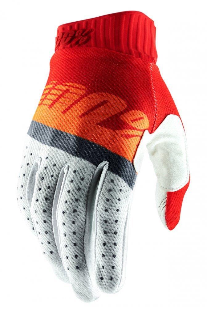Мото перчатки Ride 100% RIDEFIT Glove [Red/Orange/Blue], XL (11)