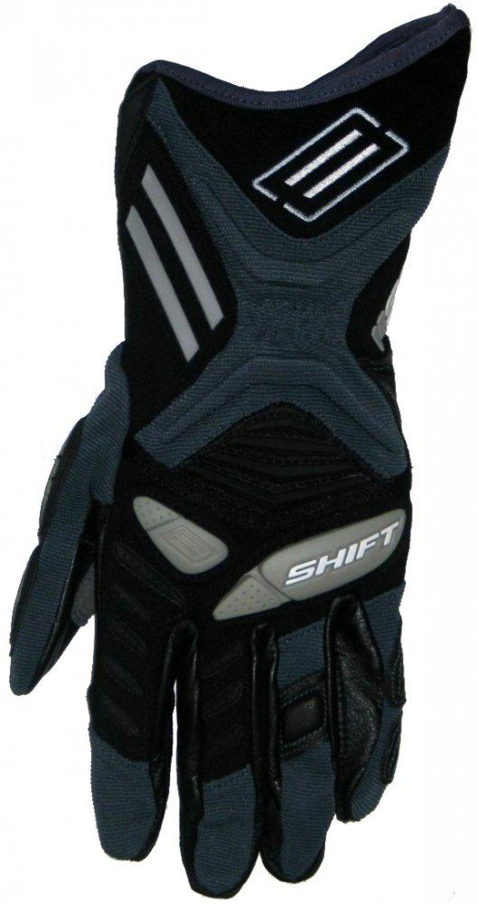 Мотоперчатки SHIFT Hybrid Delta Glove [Black], S (8)