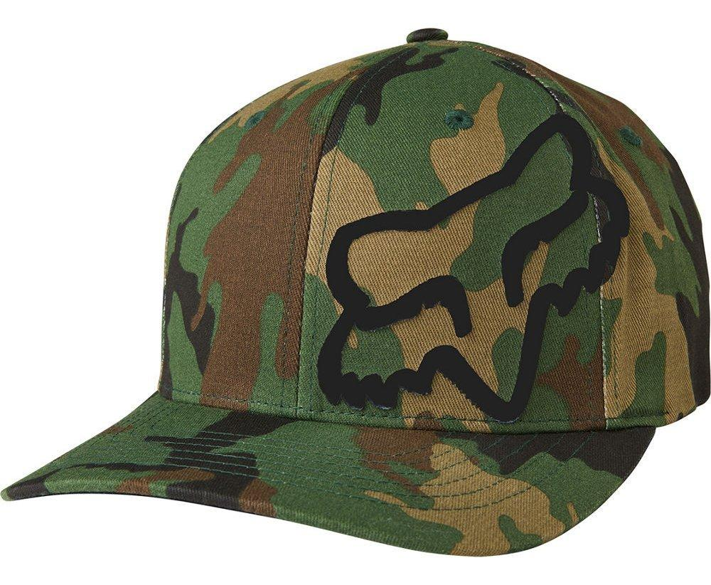 Кепка FOX FLEX 45 FLEXFIT HAT [CAMO], L/XL