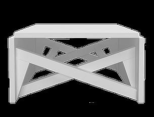 Стол-трансформер Папа Карло (с доставкой) Белый, фото 2