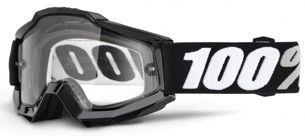 Мото очки 100% ACCURI OTG Goggle Tornado - Clear Lens, OTG