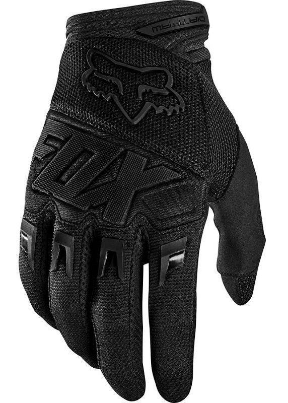 Мото перчатки FOX DIRTPAW RACE GLOVE [BLACK BLACK], XXL (12)