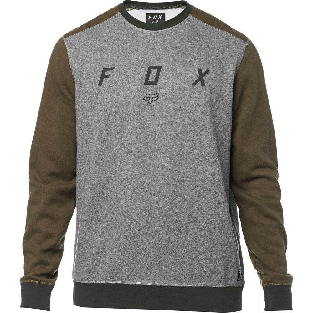 Кофта FOX DESTRAKT CREW FLEECE [HTR GRAPH], L