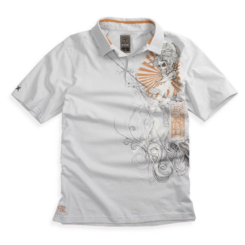 Рубаха поло FOX Inked Polo [Light Grey], M