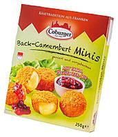 Сырные шарики камамбер для жарки с клюквенным соусом, Coburger, 250 гр