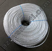 Веревка полипропиленовая (самокрут) диаметр 3, 5 мм длина 200 метров