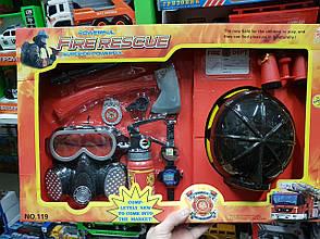 """Набор пожарного """"Fire Rescue Set"""" 10 элементов HENG XING TOYS (110/18/19), фото 3"""