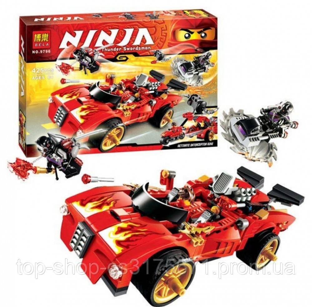 Конструктор NINJA BELA  9796