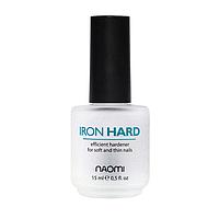 Iron Hard Тройное укрепляющее покрытие для ногтей Naomi, 15 мл