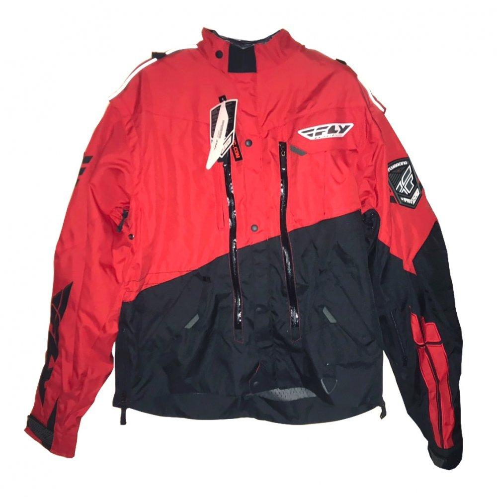 Мото куртка FLY PATROL JACKET [RED/BLK], XXL