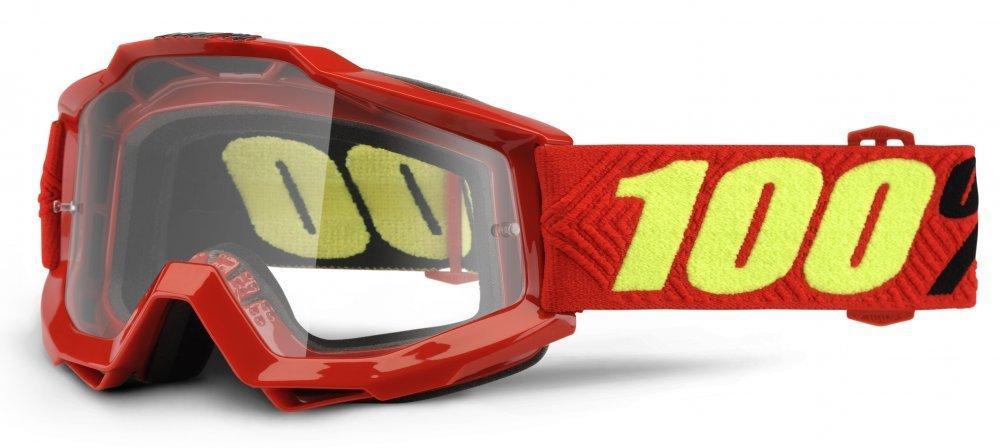 Мото очки 100% ACCURI OTG Goggle Saarinen - Clear Lens, OTG