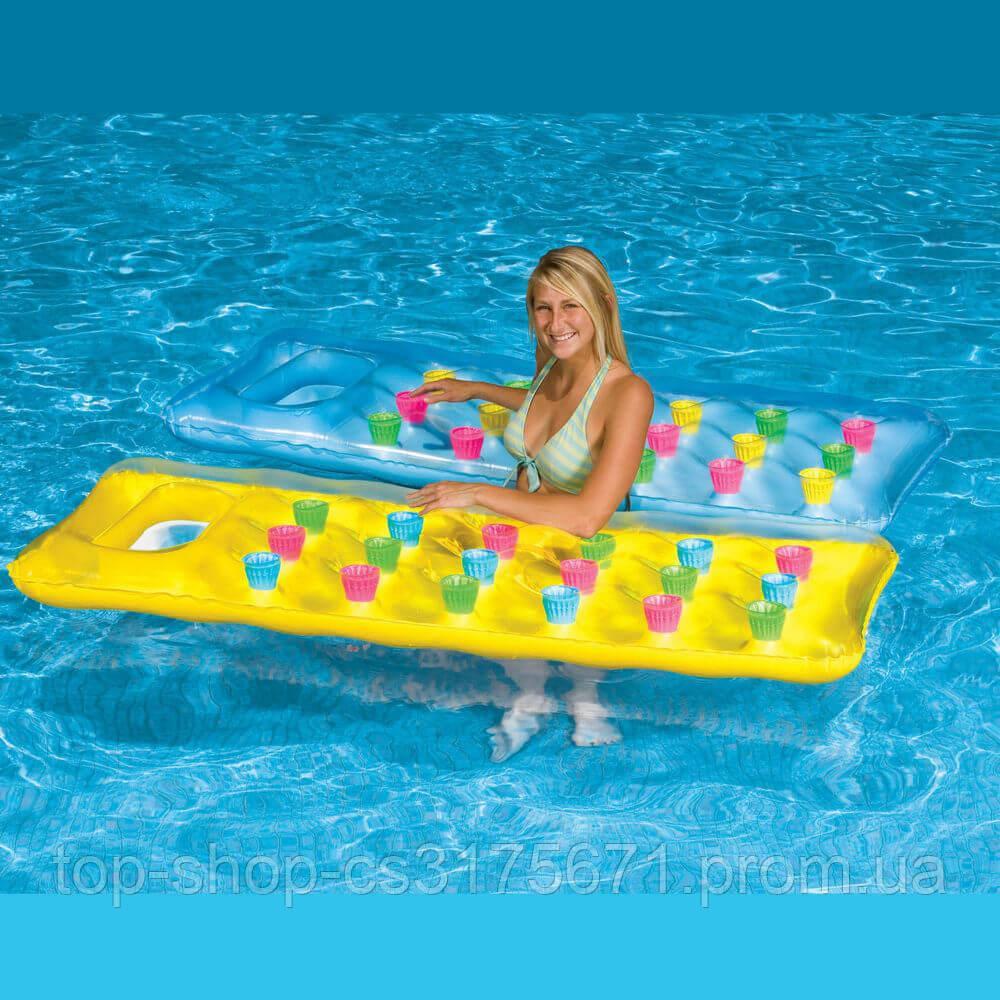 Матрас плавательный надувной 59894NP18-Pocket Suntanner Lounge Intex