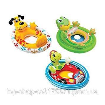 Надувной круг с трусиками Intex 59570NP See Me Sit Pool Rider