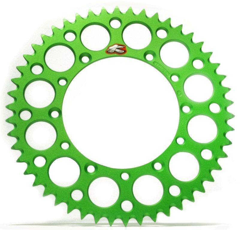 Звезда задняя Renthal Ultralight Green 520, 48z