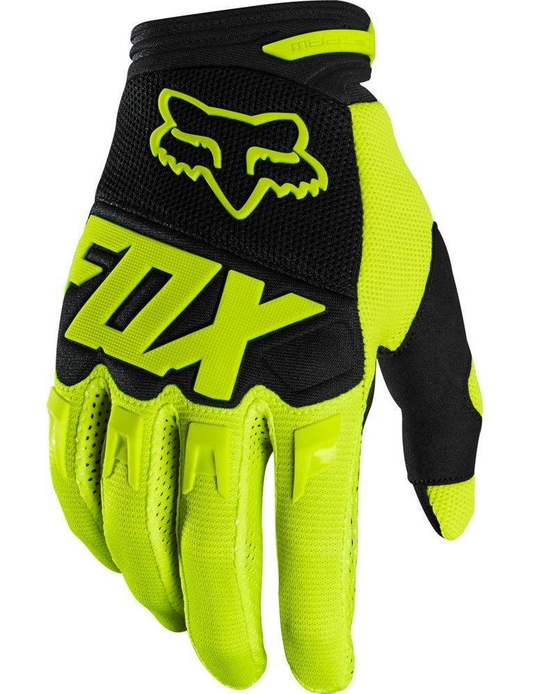 Детские мото перчатки FOX YTH DIRTPAW RACE GLOVE [FLO YELLOW], YS (5)