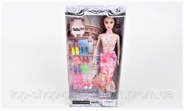 Кукла с туфлями ZR-057A