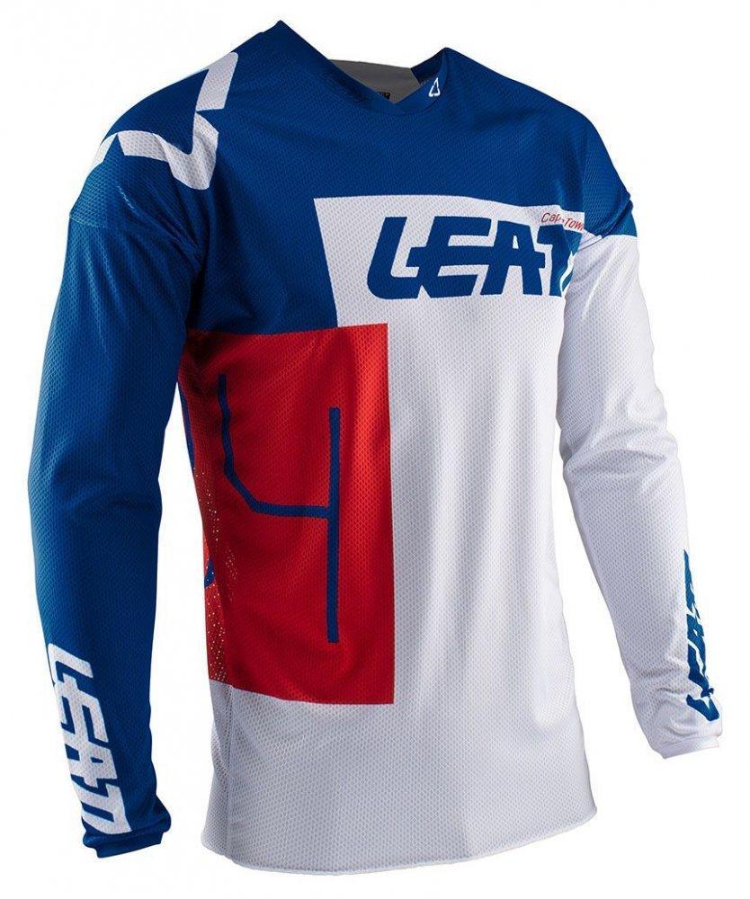 Мото джерси LEATT Jersey GPX 4.5 Lite [Royal], XL