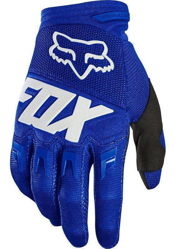 Мото перчатки FOX DIRTPAW RACE GLOVE [BLUE WHITE], M (9)