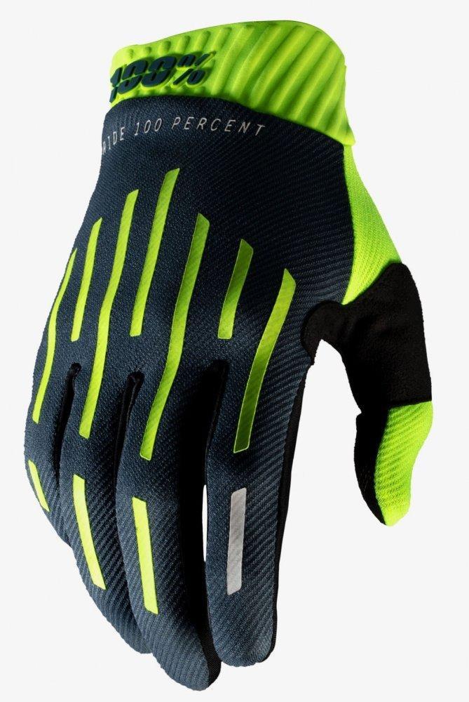 Мото перчатки Ride 100% RIDEFIT Glove [Yellow/Charcoal], S (8)