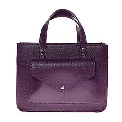 Сумка женская Betty Pretty из экокожи фиолетовая 963Lavende