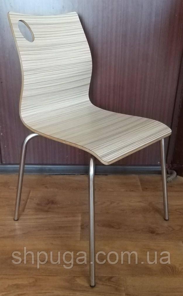 Штабелируемый стул Хорека-WB, гнутая фанера, цвет натуральное дерево