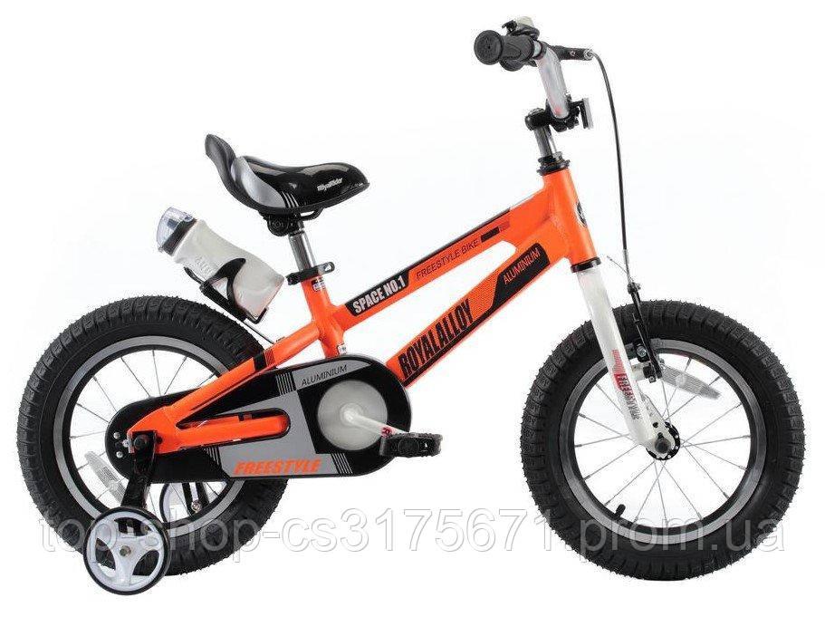 Детский велосипед Royal Baby 16 Space 16-17 алюминий Oранжевый